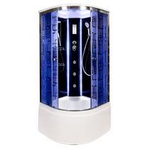 Душевая кабина Deto BМ4510 LED с гм. BLACK 100х100х220 см