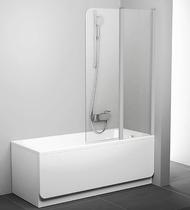 Шторка на ванну Ravak Chrome CVS2-100 R 7QRA0U00Z1 Transparent профиль сатин правый