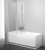 Шторка на ванну Ravak Chrome CVS2-100 L 7QLA0C00Z1 Transparent профиль хром левый