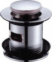 Донный клапан с переливом, хром BelBagno BB-PCU-06-CRM
