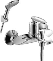 Смеситель для ванны и душа Rossinka RS30-31 Хром