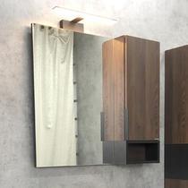"""Comforty Зеркало-шкаф """"Франкфурт-75"""" дуб шоколадно-коричневый"""