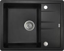 Мойка кухонная IDDIS Vane G чёрный V06B621i87