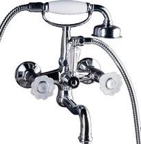 Смеситель для ванны Boheme Camelia хром 273-Camelia