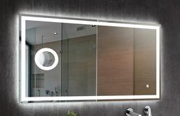 Зеркало DETO Z-125 с подсветкой