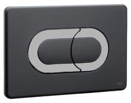 Клавиша OLI Salina 640099 черный, хром матовый