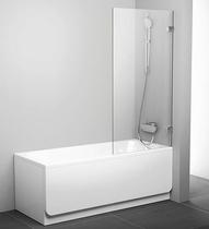 Шторка на ванну Ravak Briliant BVS1-80 7U840A00Z1 Transparent профиль хром