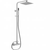 Душевая стойка с термостатическим смесителем, верхним и ручным душем, хром Cezares MOLVENO-CD-T-01-Cr