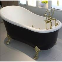Акриловая ванна SSWW PM718A 170x80 черный