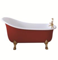 Акриловая ванна SSWW PM718A 170x80 красный