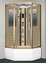 Душевая кабина Niagara Lux NG-7798G  золото 100х100х215