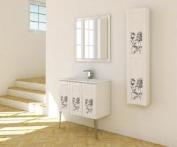 Зеркало с LED подсветкой Cezares 90x80 Rosa 45008