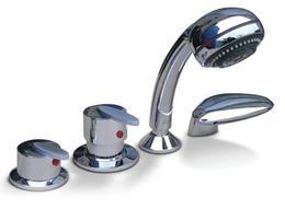 Смеситель Triton TRIT-211 (четырехпозиционный) на борт ванны