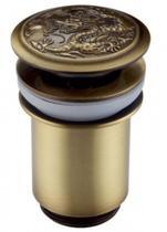 Донный клапан Zorg  Antic AZR 1 BR с переливом античная бронза
