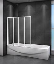 Шторка на ванну Cezares RELAX-V-4-80/140-P-Bi-R