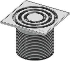 TECE Декоративная решетка TECEdrainpoint S 150 мм в стальной рамке 3660004