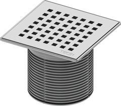 TECE Декоративная решетка TECEdrainpoint S 150 мм в стальной рамке 3660008