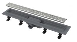 Душевой лоток AlcaPlast Simple с порогами для перфорированной решетки 65см хром APZ8-650M