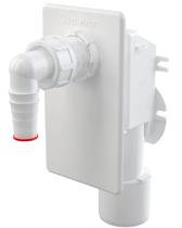 Сифон для стиральной машины AlcaPlast под штукатурку белый APS4