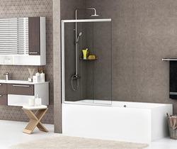 Шторка на ванну WasserKRAFT Main 41S02-100