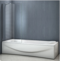 Шторка на ванну Good door SCREEN BS-90-C-CH профиль хром