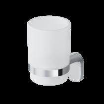 Стеклянный стакан с настенным держателем AM.PM Joy A8434300