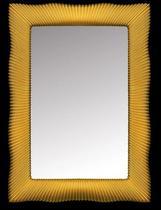 Зеркало Boheme Soho с подсветкой золото 563