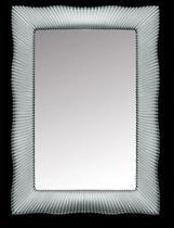 Зеркало Boheme Soho с подсветкой серебро 564