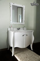 Комплект мебели Timo Mira White 19658 для ванной