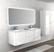 Зеркало с LED подсветкой Cezares 100x90 Liverpool 54038
