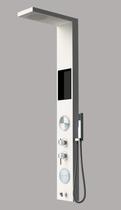Душевая панель со смесителем для ванны с полочкой AVA AV9130AW