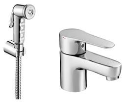 Смеситель Jacob Delafon JULY E16319-4-CP для раковины с гигиеническим душем