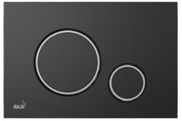 Кнопка управления AlcaPlast черный-хром M778