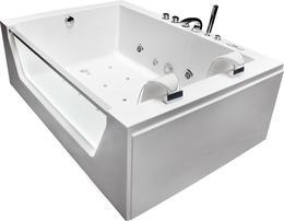 Акриловая ванна Grossman GR-17512 175x120 с гидромассажем