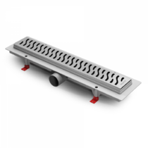 Душевой лоток Alpen Harmony CH-750H глянец с решеткой и опорами
