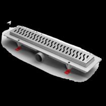 Душевой лоток Alpen Harmony CH-650H глянец с решеткой и опорами