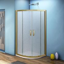 Душевой уголок Good Door Jazze R-80-G-BR стекло матовое