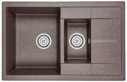 Мойка кухонная Granula GR-7802 эспрессо