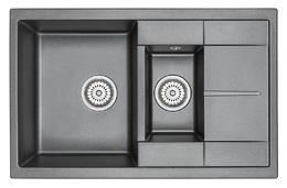 Мойка кухонная Granula GR-7802 шварц