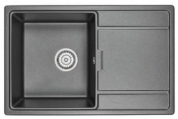 Мойка кухонная Granula GR-7804 шварц