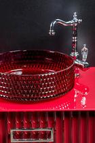 Раковина накладная Boheme красный 817-R