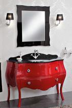 Зеркало Cezares 89x90 Rosso Anticato Anthony 990.03