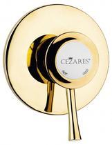 Встраиваемый однорычажный смеситель для душа, золото Cezares GIUBILEO-DIM-03/24