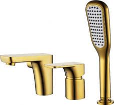 Смеситель на борт ванны D&K Berlin Tourto золото DA1434903