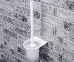 WasserKRAFT Kammel K-8327WHITE Щетка для унитаза подвесная
