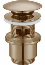 """Донный клапан с системой """"Клик-клак"""" с переливом, бронза Cezares CZR-SAT5-02"""