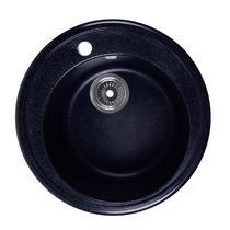 Кухонная мойка Rossinka RS51R Черная
