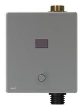 Автоматическое устройство смыва AlcaPlast для унитаза с возможностью мануального смыва 6V ASP3-KBT