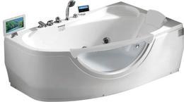 Акриловая ванна GEMY G9046 O R 161x96x68