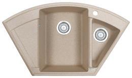 Мойка кухонная Granula GR-9001 песок